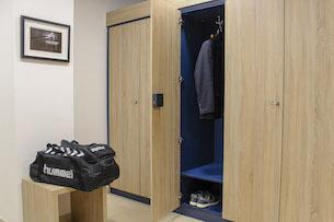 Schränke für Umkleideräume in Sport-, Fitness- und Wellnessstudios